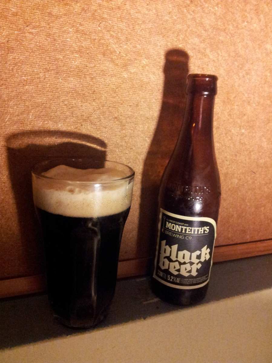 #9 Monteith's Black Beer