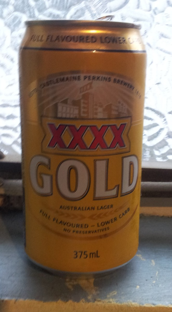 #30 XXXX Gold (not blessed by Billy Moore)