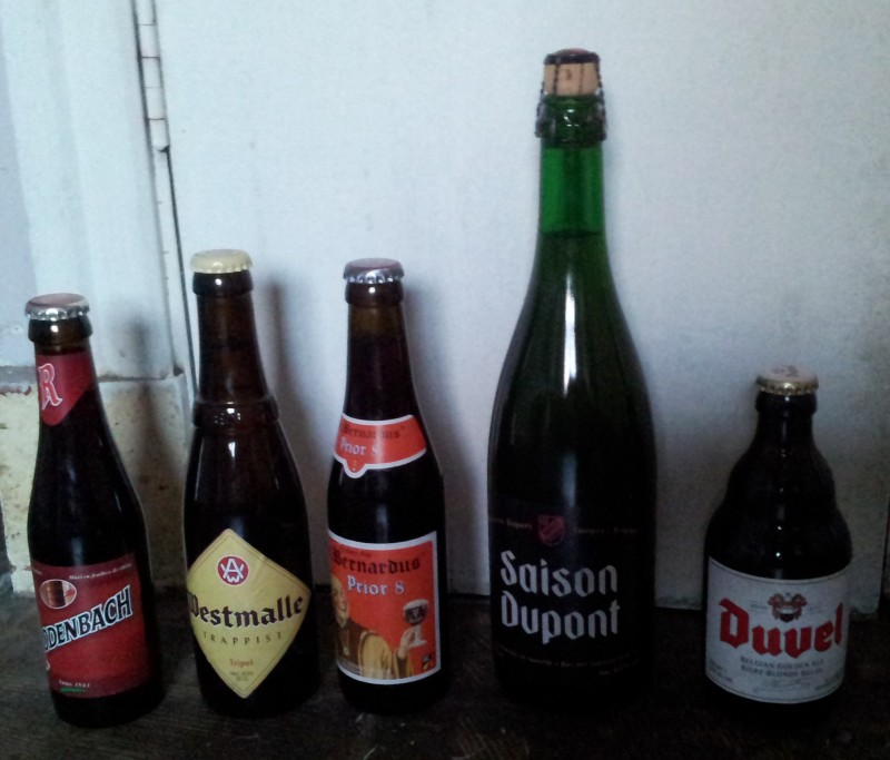 belgian six pack