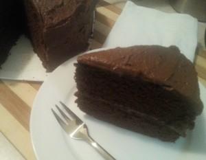 Hazelnut Brown Ale Choc Cake