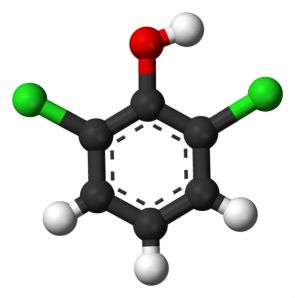 591px-2,6-Dichlorophenol-3D-balls