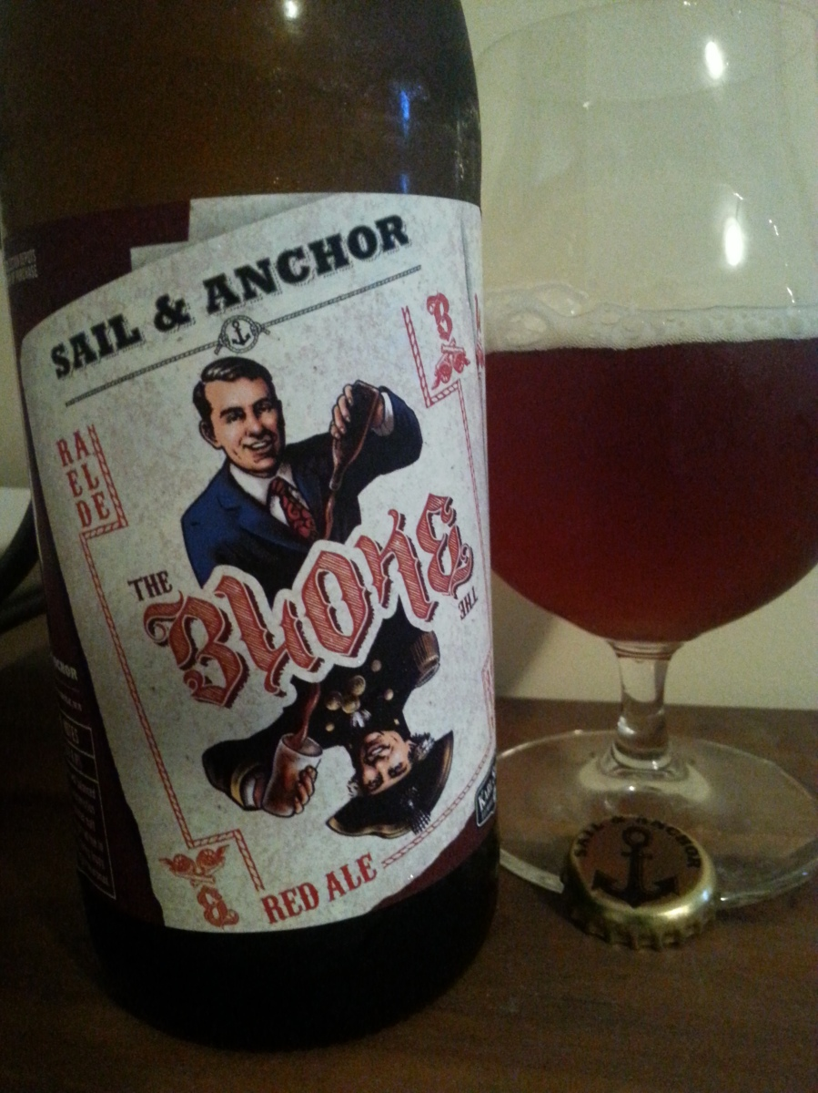#67 Sail and Anchor with Karl Strauss Brewing Co. The Bloke Red Ale