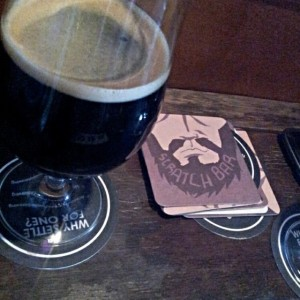 beard and brau black snout stout