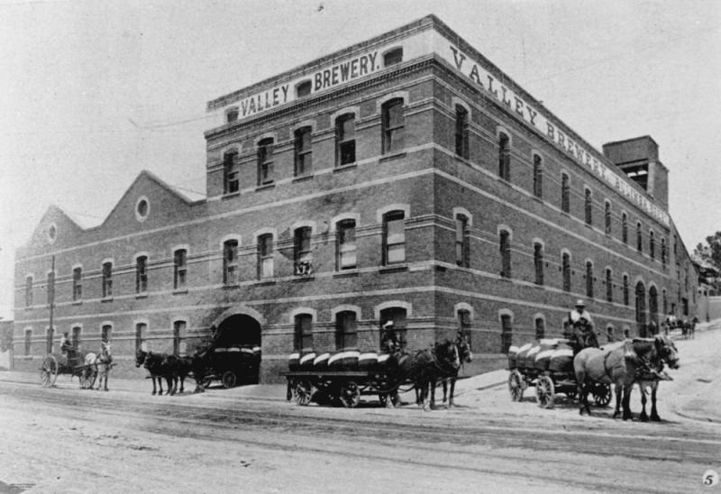 Queensland Brewery in Fortitude Valley Brisbane Queensland 1908