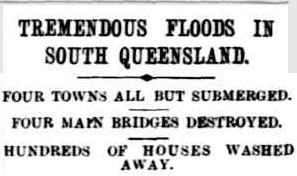 Headline from The Capricornian, 11 Februrary 1893