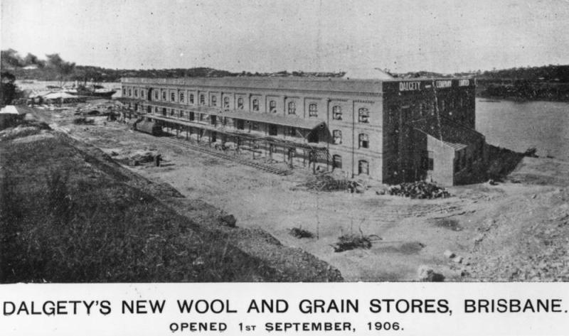 StateLibQld_1_46980_Dalgety's_new_wool_and_grain_stores,_Newstead,_1906