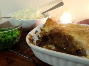 CloseUp Beef n Stout Pie