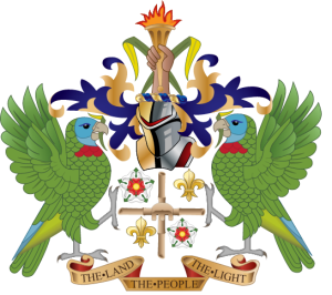 coat of arms st lucia