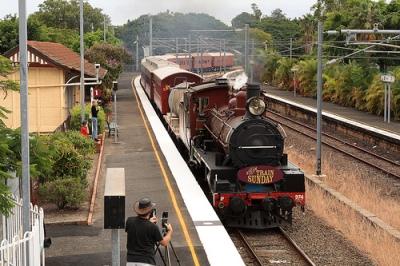 Brisbane commuter train, 2015